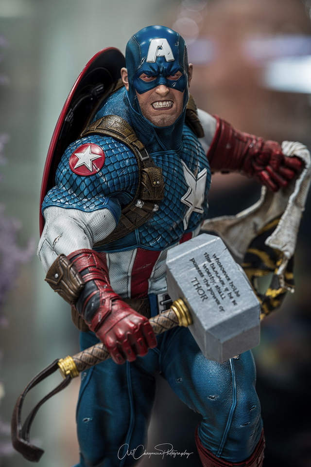 Premium Collectibles : Captain America Ultimate 1/4 Statue 129587047_10159088309d0j97