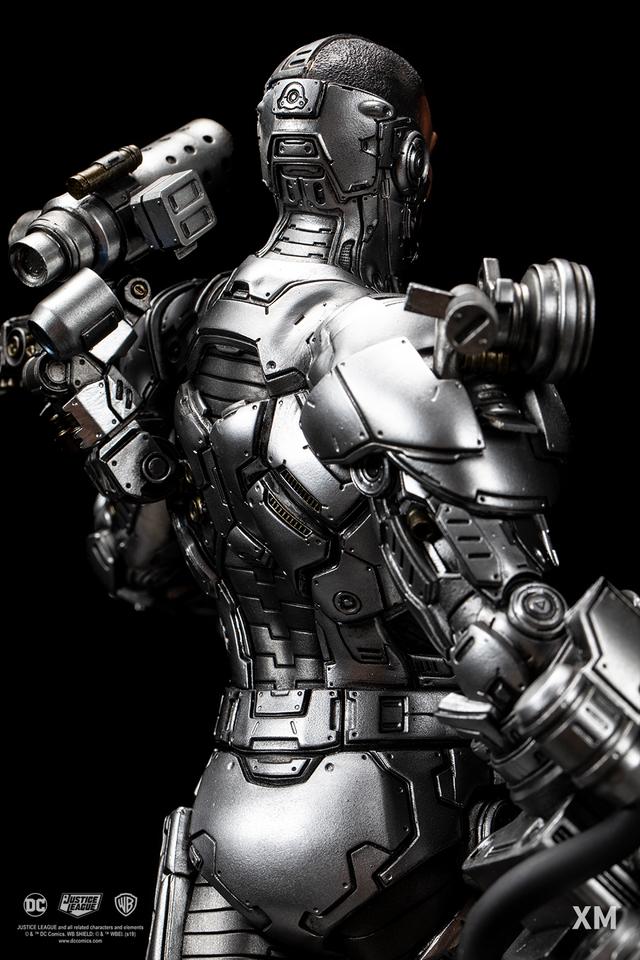 Premium Collectibles : JLA Cyborg 1/6**   12agkqn