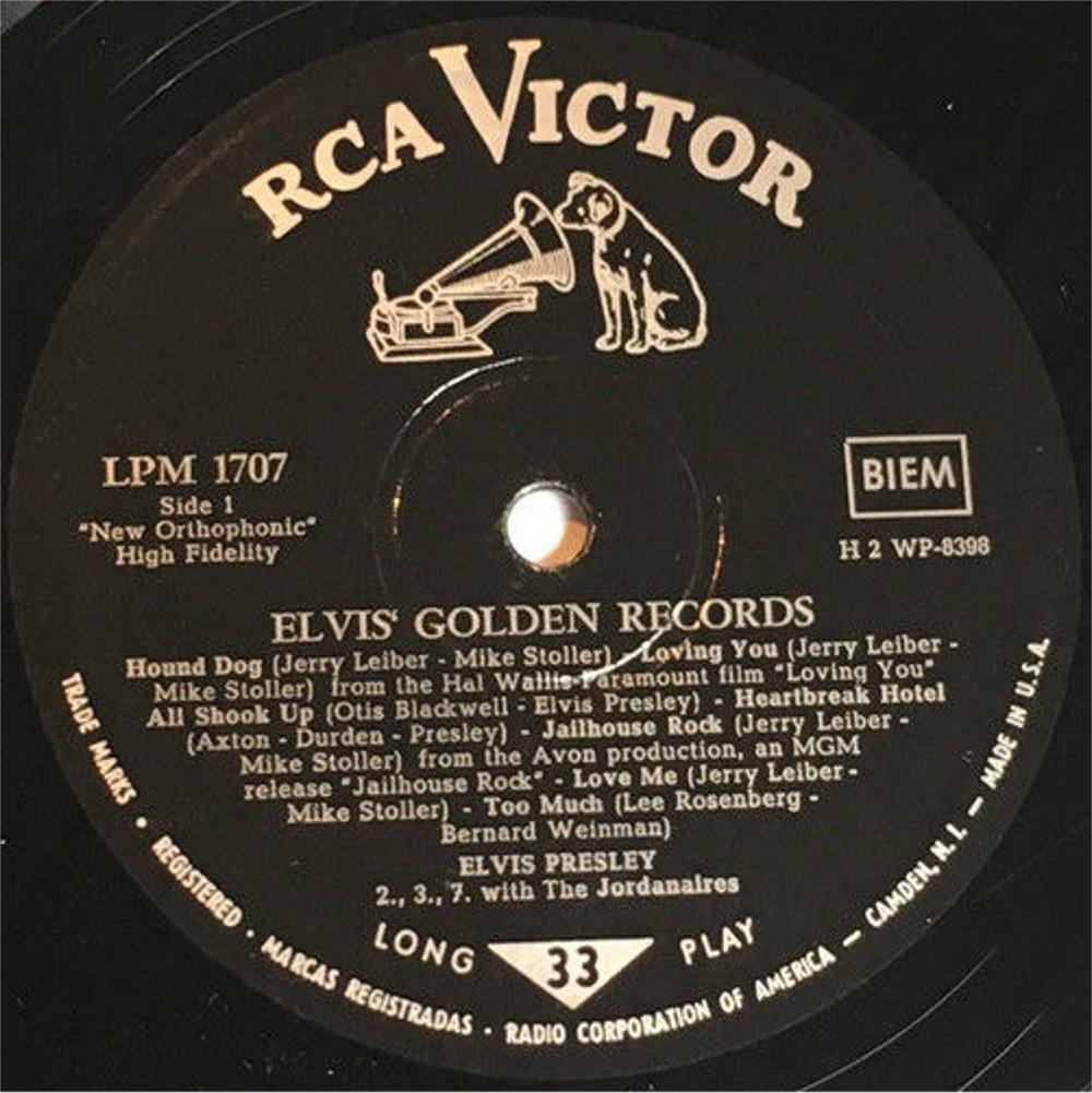 ELVIS' GOLDEN RECORDS 130oslli