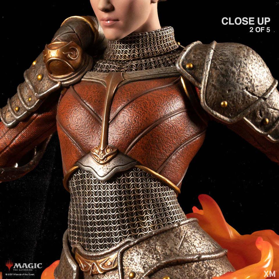 Premium Collectibles : MTG - Chandra Nalaar 1/4 Statue 131540725_27849899450orj27