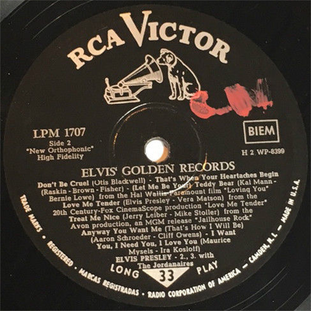 ELVIS' GOLDEN RECORDS 1316qxhr