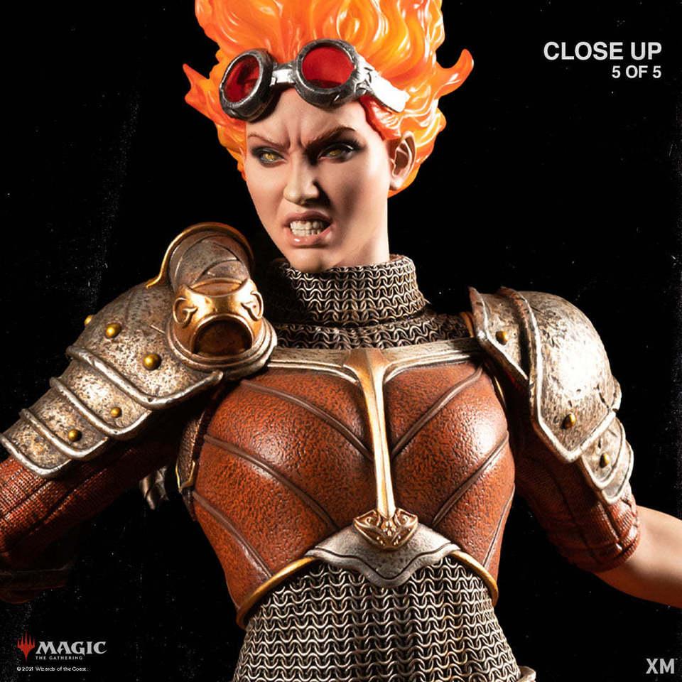Premium Collectibles : MTG - Chandra Nalaar 1/4 Statue 132119333_278498992832djmo