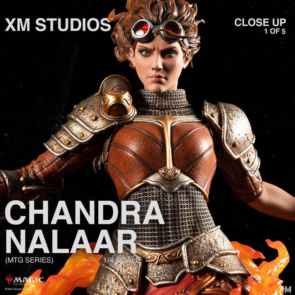 Premium Collectibles : MTG - Chandra Nalaar 1/4 Statue 132795537_27849899417k4kxo