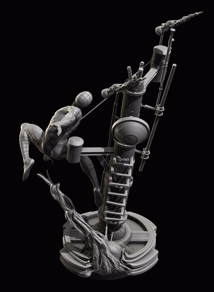Premium Collectibles : Spiderman** 13886873_17220038713505paz