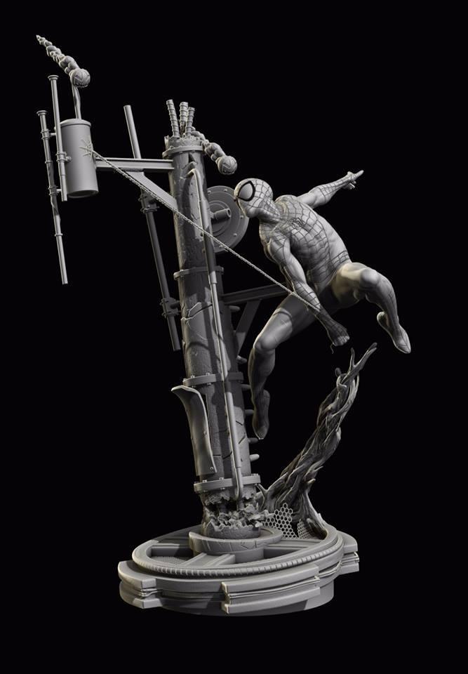 Premium Collectibles : Spiderman** 13895517_172200389802lgrxo