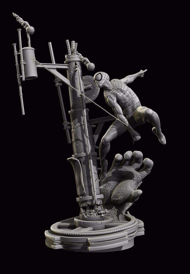Premium Collectibles : Spiderman** 13907185_172200391802pqrh3