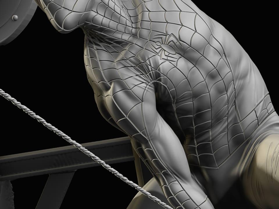 Premium Collectibles : Spiderman** 13934642_172200397468ckpgk