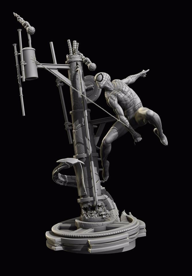 Premium Collectibles : Spiderman** 13962720_1722003884681cql0