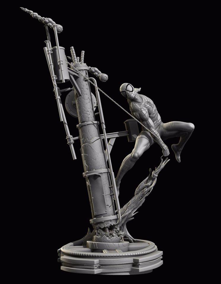 Premium Collectibles : Spiderman** 13995471_172200383802uornz