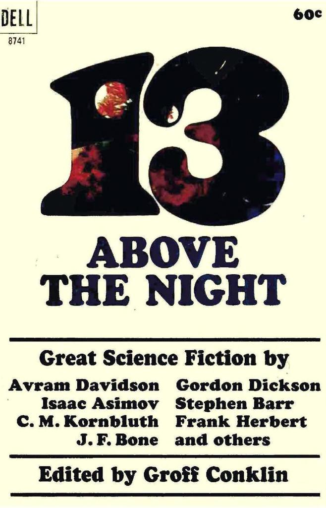 13 Above the Night (1965) by Groff Conklin