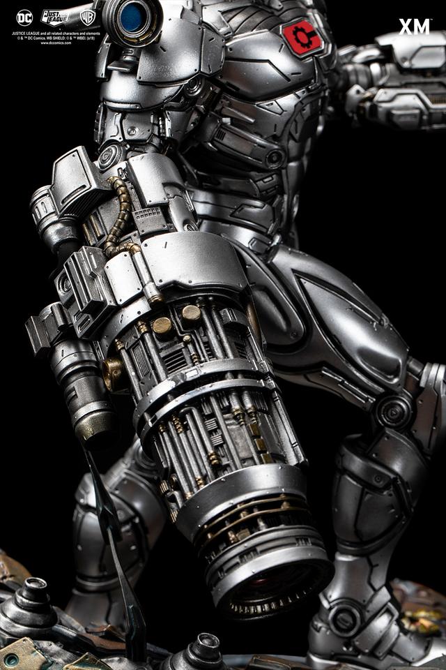 Premium Collectibles : JLA Cyborg 1/6**   13w7k7c