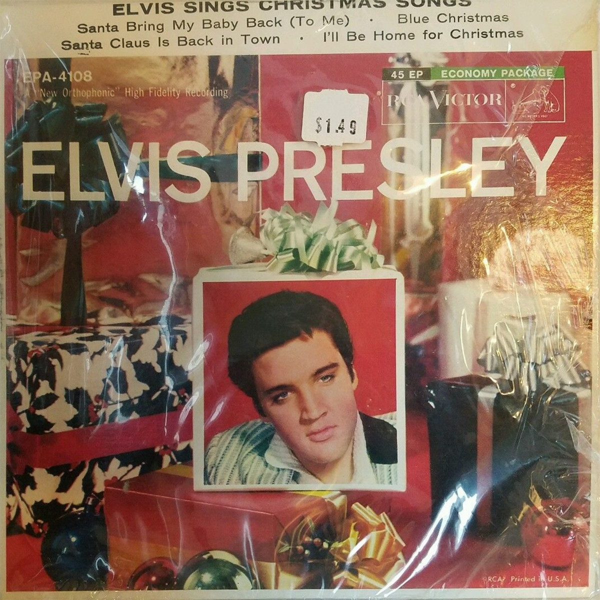 ELVIS SINGS CHRISTMAS SONGS 140p7alu