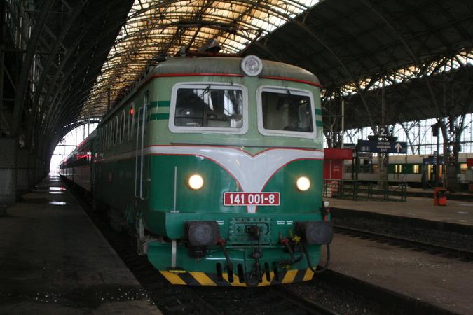 141 001-8 Praha Hlavní Nádraži