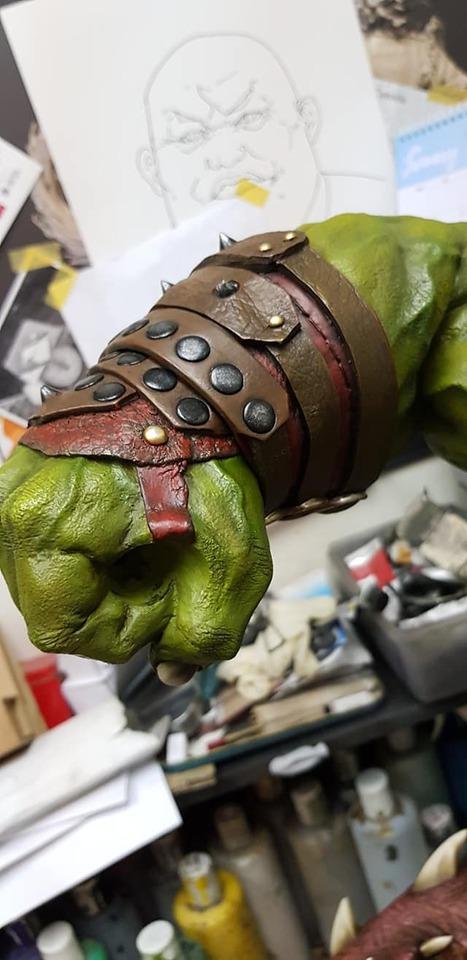 Premium Collectibles : Planet Hulk / King Hulk** 141205249_27838451851mljot