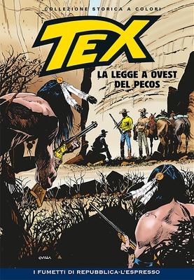 Tex Willer Collezione Storica a Colori 251 - La legge a Ovest del Pecos (2014)
