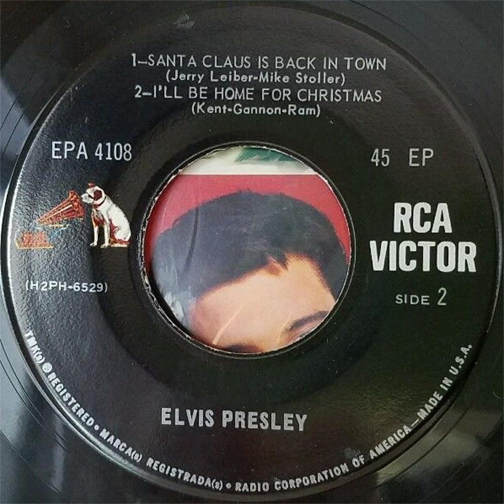 ELVIS SINGS CHRISTMAS SONGS 1437illw