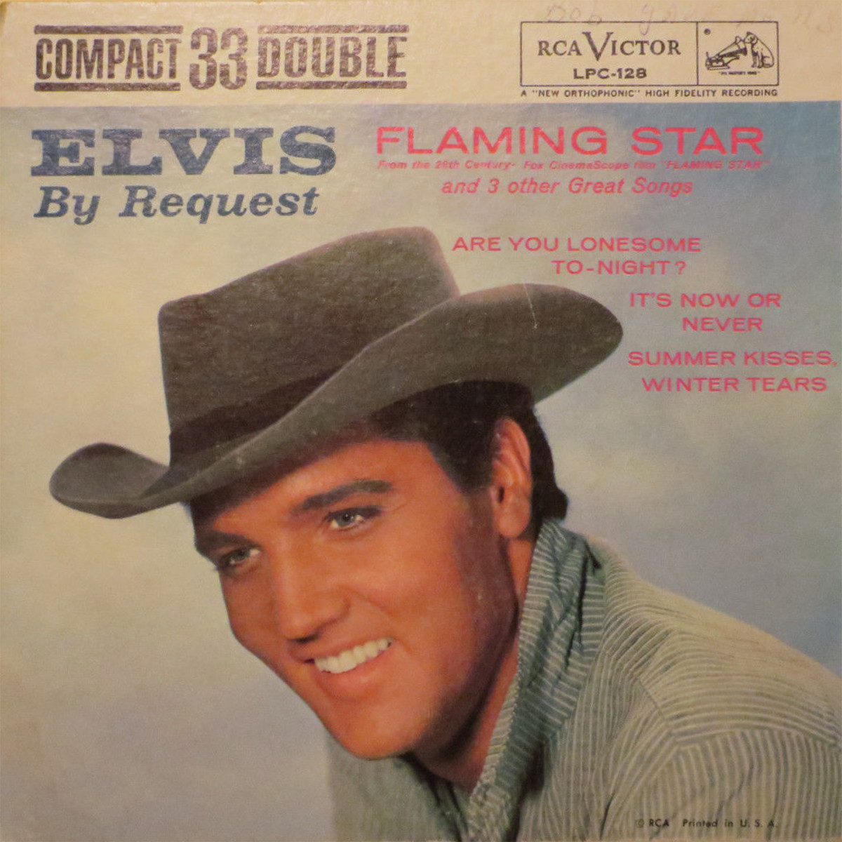ELVIS BY REQUEST - FLAMING STAR 1444irf7