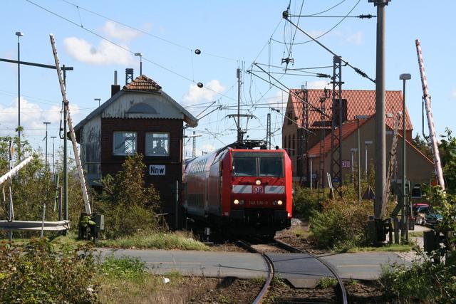 146 106-0 Ausfahrt Norddeich Mole