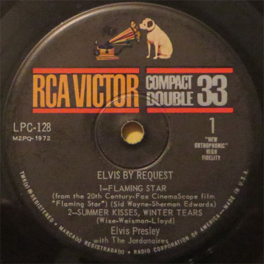 ELVIS BY REQUEST - FLAMING STAR 146tcpbm
