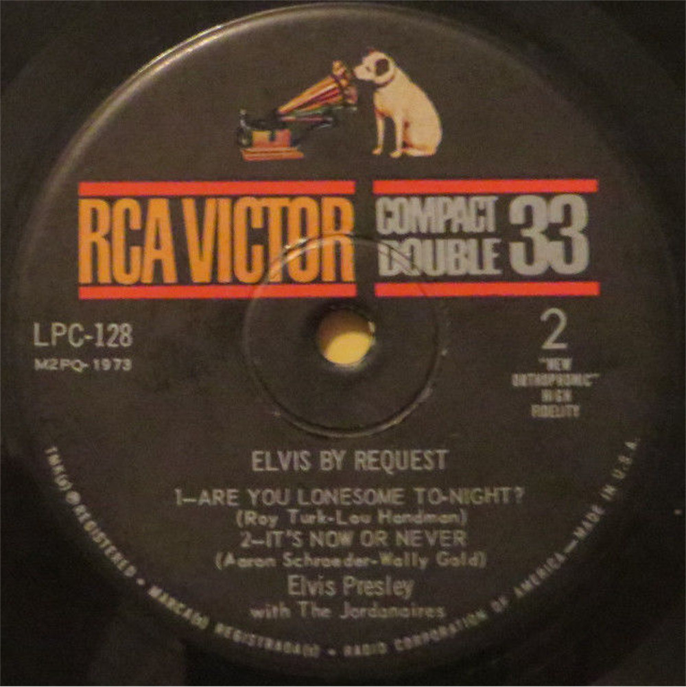 ELVIS BY REQUEST - FLAMING STAR 1472apdj
