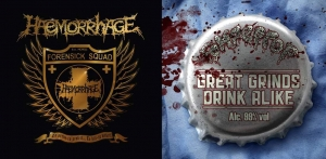 Haemorrhage & Rompeprop - To Serve - To Protect... To Kill - To Dissect & Great Grinds Drink Alike (Split) (2016