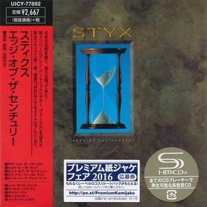 Styx – Edge of the Century [Japan Mini LP SHM-CD] (2016) Album (MP3 320 Kbps)