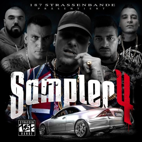 187 Strassenbande - Sampler 4 (2017)