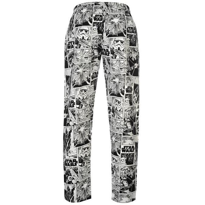 star wars herren pyjama gr s m l xl schlafanzug set shirt hose neu. Black Bedroom Furniture Sets. Home Design Ideas