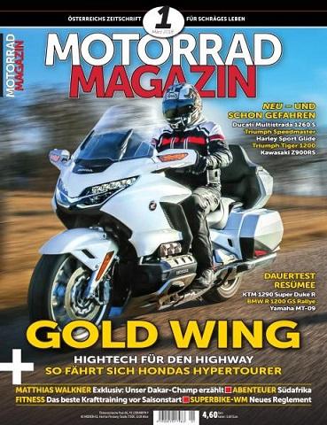 :  Motorrad Magazin No 01  März 2018