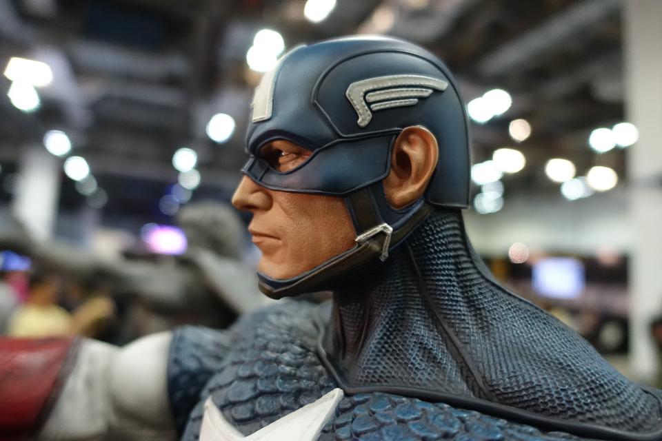 Premium Collectibles : Captain America 1/3 14lcjnp