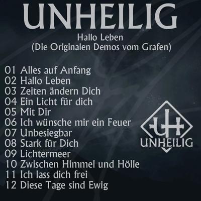 Unheilig - Demo Cd Hallo Leben (2018)