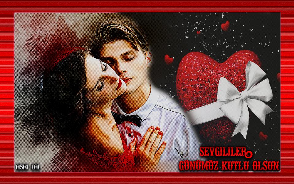 14 Şubat Sevgililer Günü Grafik E-Kart 2
