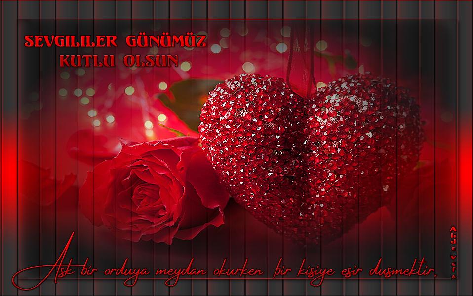 14 Şubat Sevgililer Günü Grafik E-Kart 1