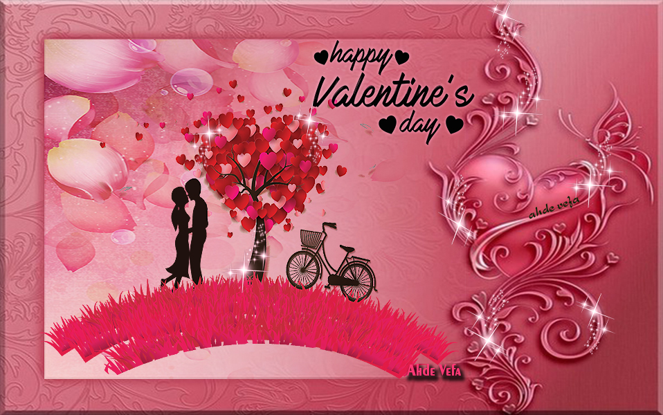 14 Şubat Sevgililer Günü Grafik E-Kart 3