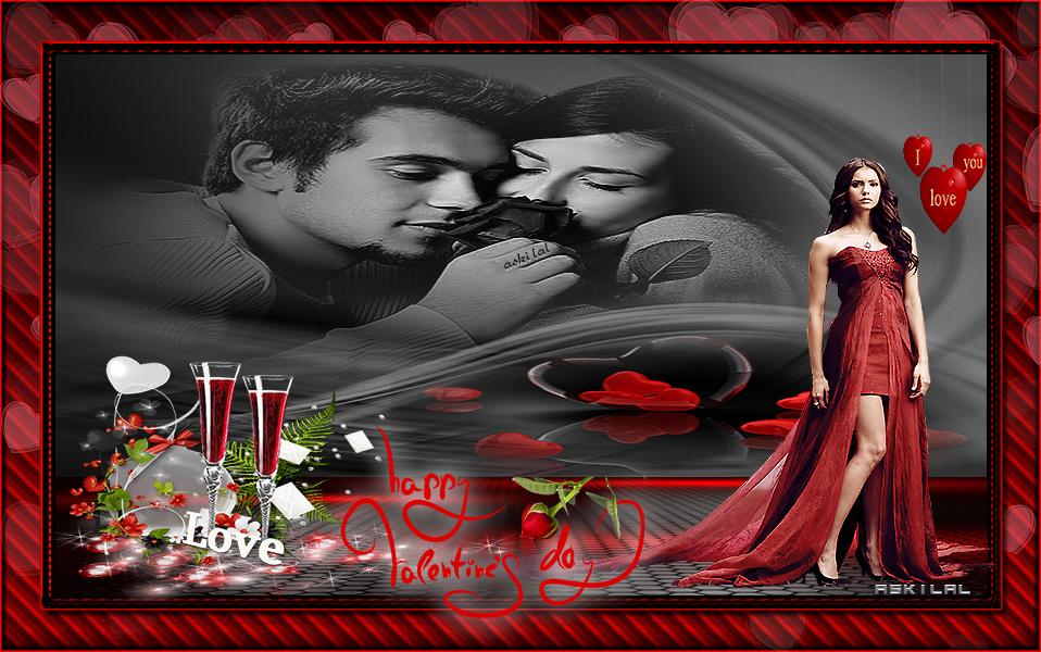 14 Şubat Sevgililer Günü Grafik E kart 1
