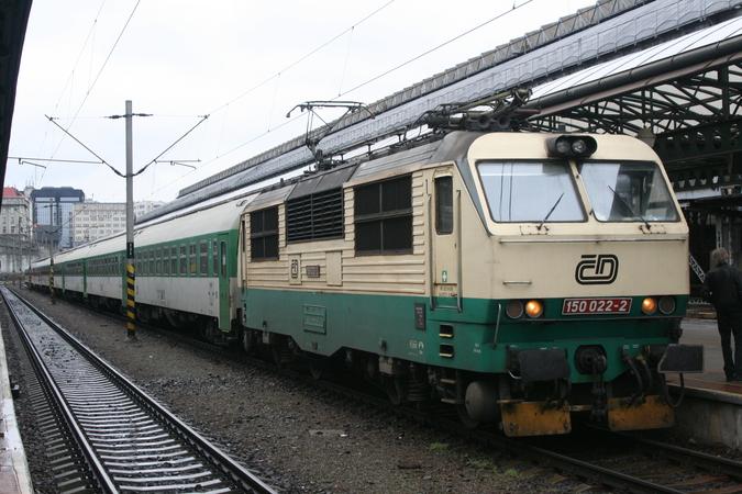 150 022-2 Praha Hlavní Nádraži