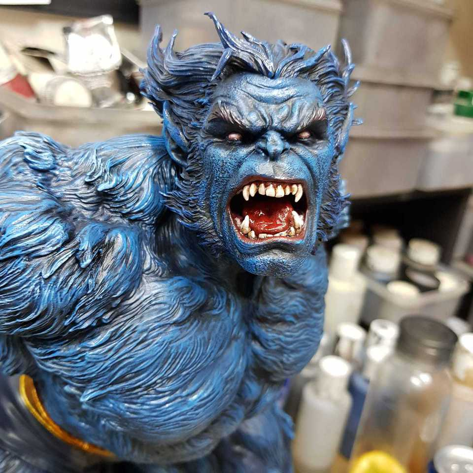 Premium Collectibles : Beast 1/4 Statue 151794247_2803665809887jpt