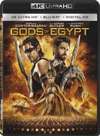 Mısır Tanrıları – Gods of Egypt (2015) 2160p 4K Türkçe Dublaj
