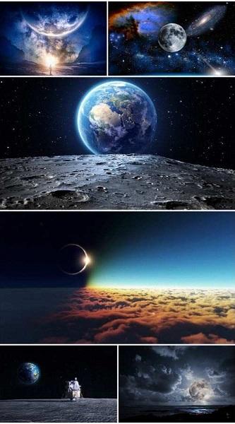 Fantastic Moon Wallpaper 1