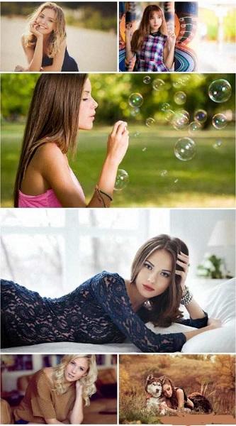 HD Beautiful Girls Wallpaper Pack 23