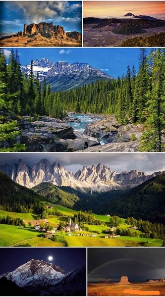 Landscapes Mountains Wallpaper (Pack 65)