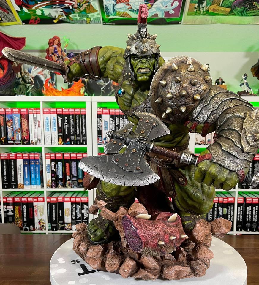 Premium Collectibles : Planet Hulk / King Hulk** - Page 2 158510122_141524653881ikvr