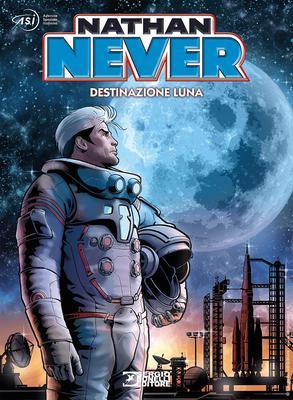 Nathan Never HC - Speciale ASI, Destinazione Luna (SBE 2020-