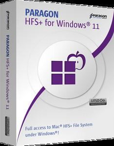 : Paragon Hfs+ für Windows v11.1.42