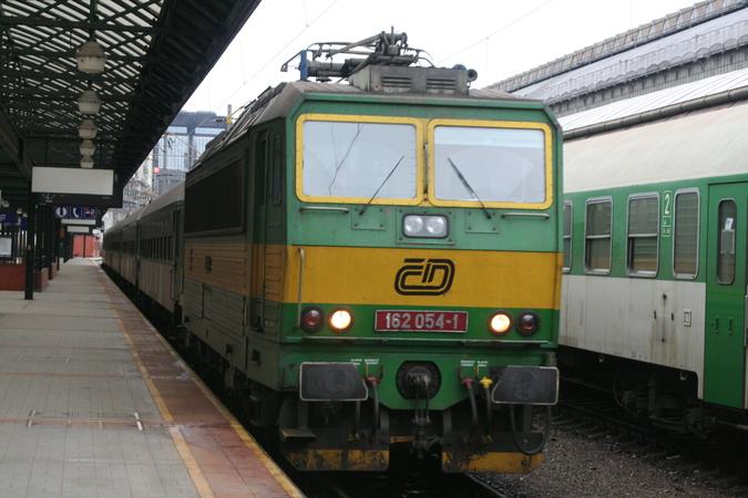 162 054-1 Praha Hlavní Nádraži