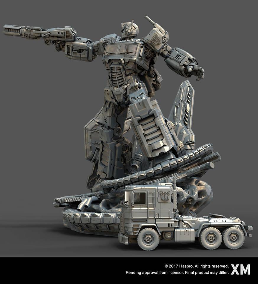 Premium Collectibles : Transformers - Optimus Prime (G1) 17523425_184989816189b9u99