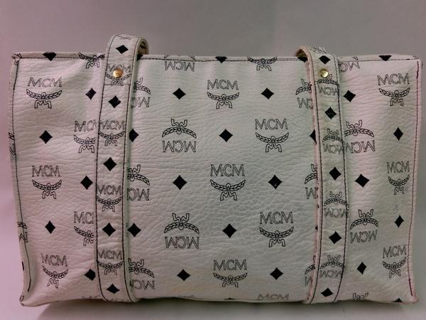 vintage mcm tote bag tasche purse borsa blogger leder 80er schultertasche hobo ebay. Black Bedroom Furniture Sets. Home Design Ideas