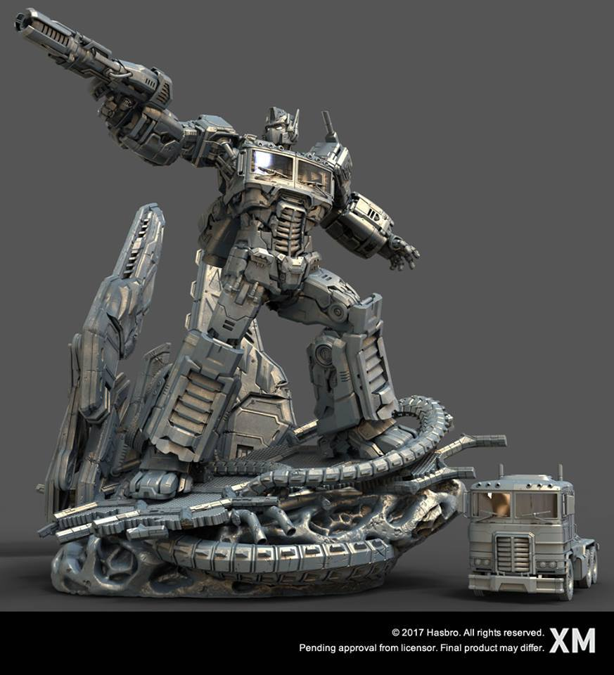 Premium Collectibles : Transformers - Optimus Prime (G1) 17903755_184989815523hnuol