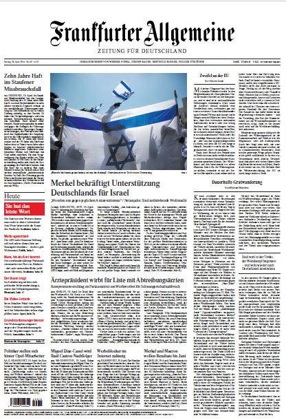 Frankfurter Allgemeine 20 April 2018