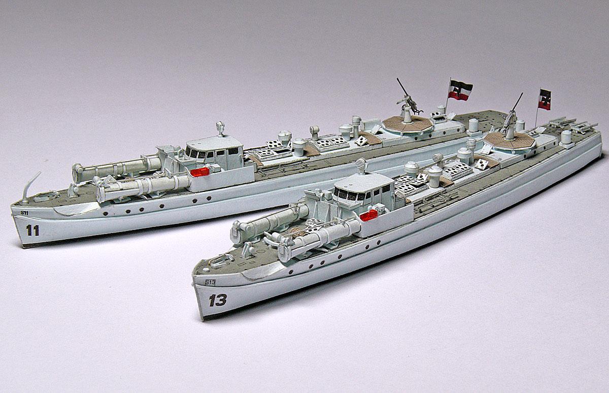 Schnellboote Série S7-S13 de la Reichsmarine 1:250 18-vornbackbordrsj7d